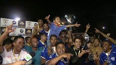 Brumadinho conquista o torneio Corujão - Final foi disputada nesta terça-feira