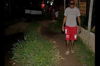 Moradores do Jardim Paraíso reclamam da falta de saneamento e segurança - Moradores do Jardim Paraíso reclamam da falta de saneamento e segurança