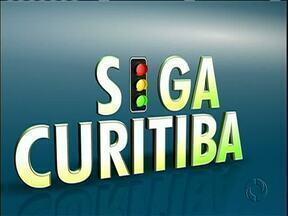 Obras na Av. João Gualberto podem deixar trânsito lento em Curitiba - Confira a situação do trânsito nesta manhã de quinta-feira