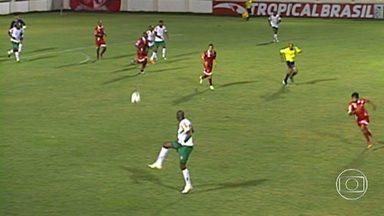 Betim volta à Série C e enfrenta o Vila Nova - O Betim voltou à Série C do Campeonato Brasileiro, e ficou no empate sem gols com o Vila Nova, de Goiás. A defesa da equipe mineira precisou se desdobrar para evitar uma derrota.