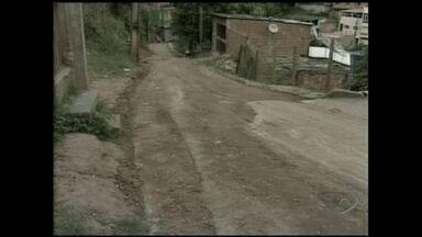 Ruas de Alto Bela Vista em Cachoeiro ganham obras de calçamento - Segundo a prefeitura, as obras vão ficar prontas em até 30 dias.