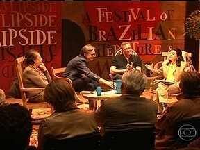Inglaterra recebe a primeira edição da Flip - Durante três dias, a cidade de Snape Maltings, que fica a duas horas de trem de Londres, recebeu alguns dos maiores nomes da literatura brasileira. O público britânico queria saber sobre as manifestações no Brasil.