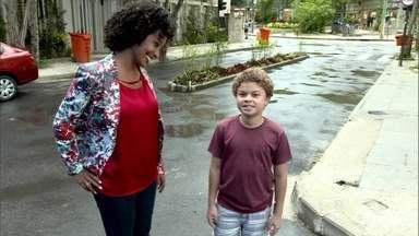 Aline Prado mostra a rotina de ator mirim de Malhação - Aos 10 anos, Marlon tem compromissos de adultos