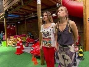 Ingrid Guimarães e Angélica revivem infância no Estrelas! - Apresentadora e atriz participam de gincana com brincadeiras de criança