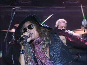 Veja como foi a noite com Aerosmith e Whitesnake - Bandas se apresentaram no Bioparque, em Curitiba.