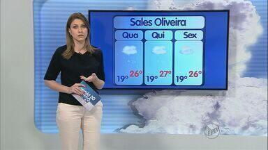 Previsão do tempo – 16/10/2013 – Ribeirão Preto e região - Sistema de baixa pressão provoca mudanças no tempo e causa probabilidade de chuvas