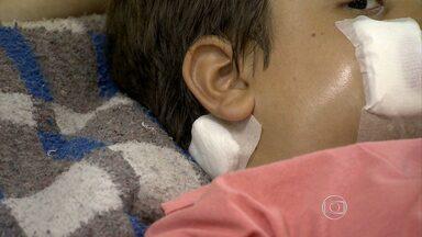 Saiba como agir em casos de acidentes com crianças em casa - Primeiros-socorros são muito importantes para evitar que a situação fique mais grave.