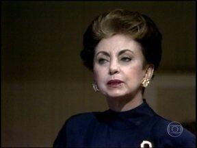 Reveja cena da vilã Odete Roitman em Vale Tudo - Cena foi ao ar em 1988