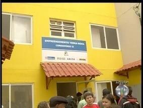 Moradias são entregues para vítimas da tragédia de 2011 em Friburgo, RJ - Governo estadual faz a entrega de 316 apartamentos.Residências ficam no distrito de Conselheiro Paulino.