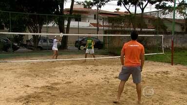 Tênis de praia: nova modalidade esportiva tem torneio em BH - Tênis de praia: nova modalidade esportiva tem torneio em BH