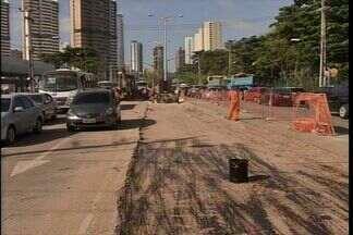 Desvios para a construção de dois viadutos no Cocó começam nesta quarta-feira (23) - Confira as alternativas que os motoristas terão para trafegar no entorno do Parque do Cocó.