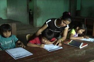 Escolas na reserva indígena guajajara, em Bom Jardim, enfrentam problemas - Cupim, sujeira e infraestrutura comprometida são alguns deles.