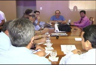 Empresa avalia instalar fábrica de cimento em Santarém - Nesta terça-feira (22), prefeito de Santarém, Alexandre Von, reuniu com representantes da empresa que avalia instalar uma fábrica de cimento em Santarém, oeste do Pará.