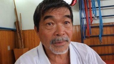 Pai do Lyoto manda recado para filho antes de luta no UFC - Yoshizo Machida esteve em Manaus para ministrar curso de caratê e mandou recado para o filho.
