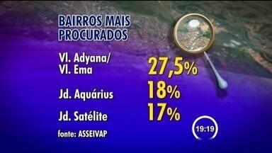 Preço do aluguel sobe mais que a inflação em São José dos Campos (SP) - Índice acumulado em um ano foi de 6% e reajuste médio foi de 10%. Maior procura está na Vila Adyana, Vila Ema e Jardim Aquárius.