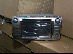 Polícia recupera parte da carga de eletrônicos roubada no terminal de cargas da Tam - A carga foi roubada há três semanas no aeroporto internacional de Guarulhos.