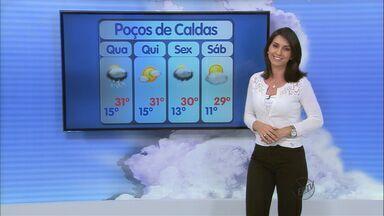 Confira a previsão do tempo para esta quarta-feira (23) no Sul de Minas - Confira a previsão do tempo para esta quarta-feira (23) no Sul de Minas