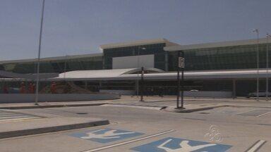 Novo estacionamento do Aeroporto de Manaus será parcialmente liberado - Embarque e desembarque de passageiros também sofrerá mudanças.Infraero desativará área provisória de estacionamento nesta quarta (23).