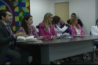 JPB2JP: Prevenção do câncer de mama é tema de audiência pública - Na Assembleia Legislativa.
