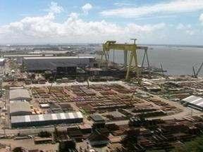Parte das ações da empresa que administra o estaleiro em Rio Grande, RS, serão vendidas - Os valores não foram confirmados.