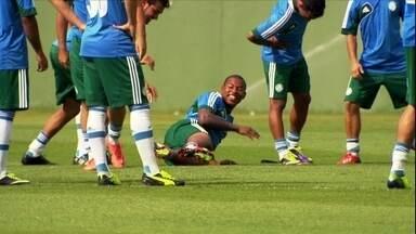Palmeiras se prepara para o jogo do acesso, neste sábado, contra o São Caetano - Com estádio lotado e a volta de Valdivia, time precisa de um empate para garantir vaga na elite em 2014