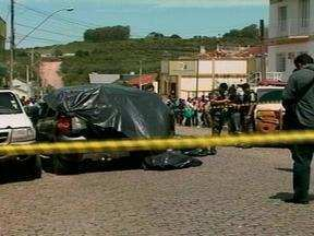 Continuam as investigações do assalto a banco em Lavras do Sul, RS - Polícia Civil de Bagé, RS, coordena as investigações sobre o assalto que resultou na morte de três criminosos na cidade.