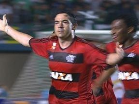 Gol do Flamengo! Chicão cobra falta e amplia aos 40 do 1º tempo - Gol do Flamengo! Chicão cobra falta e amplia aos 40 do 1º tempo