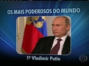 Presidente da Rússia fica na frente de Obama na lista dos mais poderosos do mundo - A revista Forbes divulgou a lista das pessoas mais poderosas do mundo. O presidente russo Vladimir Putin ultrapassou Obama, que aparece em segundo lugar. Dilma Rousseff é citada em 20º lugar no ranking.