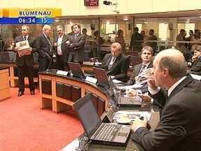 Assembleia Legislativa catarinense é a primeira no país a por fim ao voto secreto - Assembleia Legislativa catarinense é a primeira no país a por fim ao voto secreto