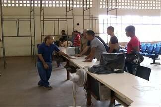 Problemas em impressora suspende serviços na Ciretran - Os usuários também reclamam dos transtornos com as obras atrasadas na representação do DETRAN em Santarém.