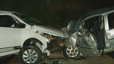Acidentes deixam pelo menos cinco mortos no fim de semana no Sul de Minas - Acidentes deixam pelo menos cinco mortos no fim de semana no Sul de Minas