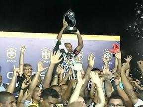 Juventude é vice-campeão da Série D do Brasileirão - Time perdeu por 2 a 0 para o Botafogo-PR.