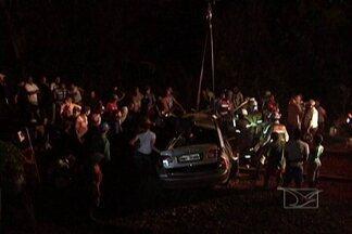 No Vale do Pindaré, homem morre após carro em que ele estava ser atingido por trem - Acidente foi entre Igarapé do Meio e Monção.