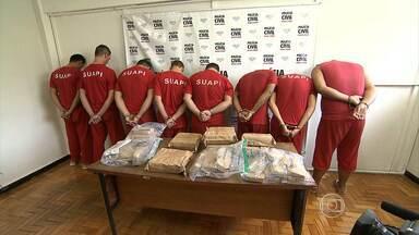 Polícia prende quadrilha suspeita de traficar droga entre MS e MG - Nove suspeitos foram detidos nos dois estados
