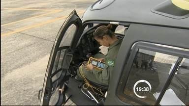 Cavex tem primeira equipe feminina de manutenção de aeronaves, em Taubaté (SP) - A manutenção das aeronaves do Comando de Aviação do Exército é feita por mulheres há quatro anos, mas a formação de um grupo só de mulheres é inédita.