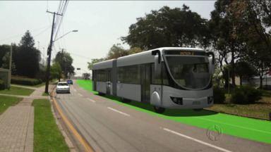 Curitiba vai ter novas canaletas e faixas exclusivas - Prefeitura tenta tornar mais rápidas as viagens de ônibus na capital.