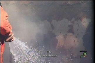 Corpo de Bombeiros do Cariri segue trabalhando em condições precárias - No fim de semana, empresário denunciou demora para chegar a local de incêndio.