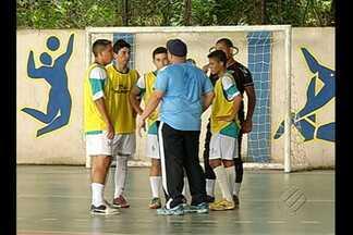 Futsal do Madre Celeste quer fazer bonito nos Jogos Escolares da Juventude - Colégio vai representar o Pará no masculino e feminino.