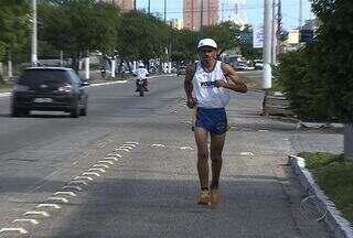 Sergipano treina diariamente para conseguir bons resultados na Volta de Aracaju - Sergipano tem como principal objetivo abaixar o tempo das suas ultimas participações na Volta de Aracaju. Confira.