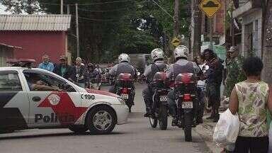 Polícia busca suspeito de assassinar PM na Zona Noroeste de Santos - Policial militar foi morto com um tiro na cabeça enquanto fazia patrulhamento na tarde desta terça-feira (5).
