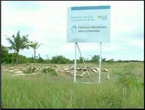 Produtores reclamam de desapropriação em São João da Barra, RJ - Terras foram desapropriadas para construção do Porto do Açu.Cerca de 350 famílias tiveram que deixar as áreas rurais.