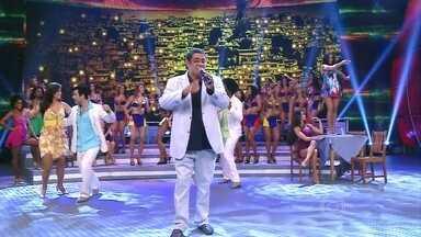 Zeca Pagodinho canta 'Foi um rio que passou na minha vida' - O sambista levantou a galera