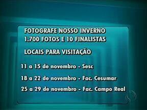 """Exposição do concurso """"Fotografe o Nosso Inverno"""" passa por faculdades em Guarapuava - Até o fim de novembro, exposição de fotos estará no Sesc e em duas faculdades da cidade."""