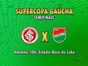 Semifinais da Supercopa Gaúcha estão definidas - Confira como serão os jogos.
