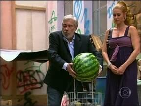 Reveja Pedro Paulo Rangel e Paula Bulamarqui em Os Caras de Pau - Cena foi ao ar em 2006