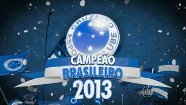 Cruzeiro sacramenta título com vitória na Bahia - Cruzeiro vence o Vitória por 3 a 1 e confirma o título de campeão brasileiro