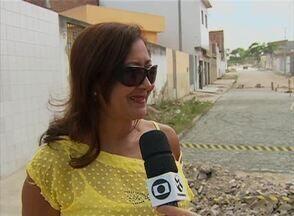 Cidade Real faz cobrança de drenagem no Bairro Rendeiras, em Caruaru - Moradores reclamavam que após a chuva ruas do bairro ficavam alagadas. Obras foram feitas e moradores estão satisfeitos.
