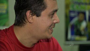 Veja como o esporte mudou a vida de um paratleta - Mesatenista cearense conta o que o levou a usar cadeira de rodas.