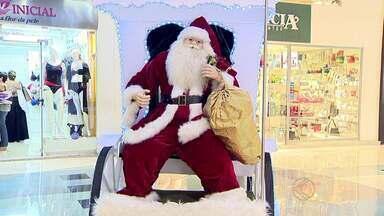 Decorações de natal começam a ser preparadas em Juiz de Fora - Casas e shoppings recebem trabalhos de artesãos com luzes e enfeites conforme data festiva se aproxima