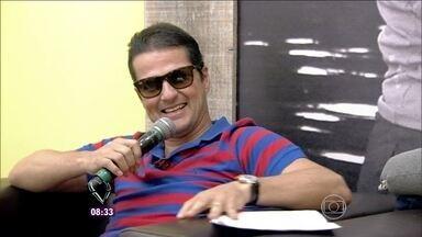Ana anuncia a presença de Marcelo Serrado no Mais Você deste feriado - Ator diz que é um prazer estar com a apresentadora e com o Louro José